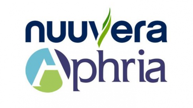 Licensed marijuana producer Aphria signs deal to buy Nuuvera