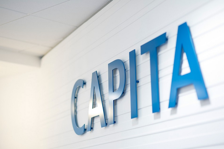 capita group share price