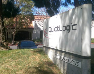 QuickLogic Shares Spike