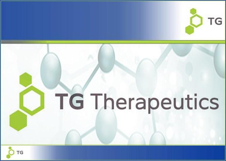 TG Therapeutics Climbs By 14% After Presenting at J P Morgan