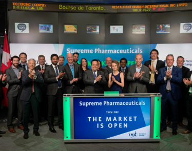 Supreme Cannabis Company, Inc. Shares Up 10%