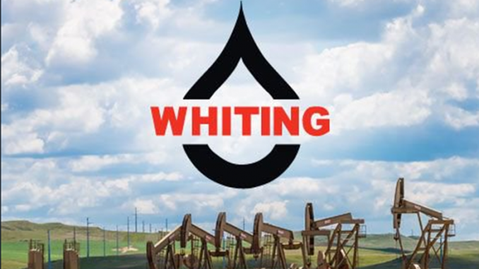 Whiting Petroleum (WLL) Stock Price Up 0.4%