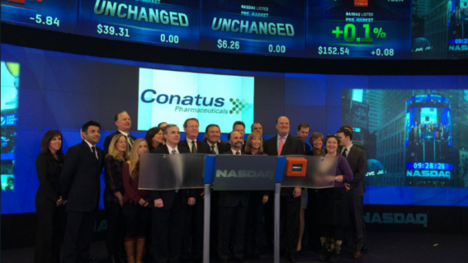 Conatus Pharmaceuticals Inc (NASDAQ:CNAT) 2017 Q4 Sentiment